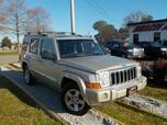 2008 JEEP COMMANDER LIMITED 4X4, WARRANTY, LEATHER, 3RD ROW, DVD PLAYER, NAV, SUNROOF, BACKUP CAM, PARKING SENSORS, AC!