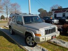 2008_JEEP_COMMANDER_LIMITED 4X4, WARRANTY, LEATHER, 3RD ROW, DVD PLAYER, NAV, SUNROOF, BACKUP CAM, PARKING SENSORS, AC!_ Norfolk VA