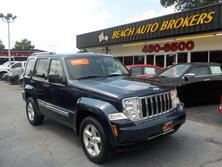 JEEP LIBERTY LIMITED 4X4, AUTOCHECK CERTIFIED, ONLY 1 OWNER, SIRIUS, HEATED SEATS, LEATHER, 59K MILES, NICE!!! 2008