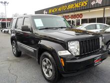 2008_JEEP_LIBERTY_SPORT 4X4, WARRANTY,  SUNROOF,TOW PKG, BLUETOOTH,CRUISE CONTROL, AUX PORT, PREMIUM ALLOY RIMS, AUX!_ Norfolk VA