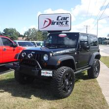 JEEP WRANGLER RUBICON 4X4, ONE OWNER, CARFAX CERTIFIED, NAVIGATION, U-CONNECT, TOW PACKAGE, ONLY 56K MILES! 2008