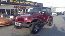 JEEP WRANGLER SAHARA 4X4, CARFAX CERTIFIED, NAVIGATION, SIRUIS SATELLITE, BLUETOOTH, TOW PKG, READY FOR THE BEACH! 2008