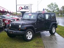 JEEP WRANGLER UNLIMITED RUBICON 4X4, AUTOCHECK CERTIFIED, HARD & SOFT TOPS, TOW PKG, 1 OWNER, ONLY 20K MI, MINT! 2008