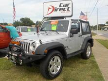 JEEP WRANGLER X 4X4, AUTOCHECK CERTIFIED, WINCH, BRUSH GUARD, READY FOR OFF-ROAD, ONLY 72K MILES! 2008