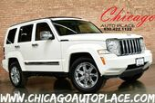 2008 Jeep Liberty Limited - 3.7L V6 ENGINE 4 WHEEL DRIVE NAVIGATION 2-TONE TAN/BROWN LEATHER INTERIOR HEATED SEATS BLUETOOTH CLIMATE CONTROL CHROME WHEELS