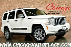 2008_Jeep_Liberty_Limited - 3.7L V6 ENGINE 4 WHEEL DRIVE NAVIGATION 2-TONE TAN/BROWN LEATHER INTERIOR HEATED SEATS BLUETOOTH CLIMATE CONTROL CHROME WHEELS_ Bensenville IL