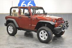 2008_Jeep_Wrangler_LIFTED! 4WD! WINCH! CUSTOM BUMPERS! BRAND NEW AGGRESSIVE NITTO TIRES! LOW MILES!_ Norman OK