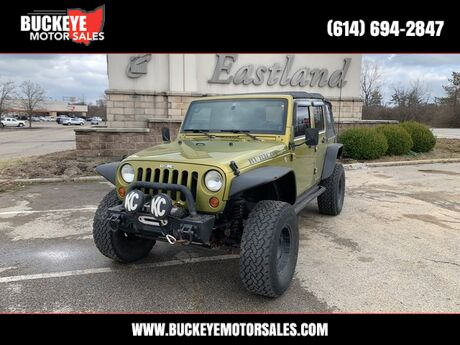 2008 Jeep Wrangler Unlimited Rubicon Columbus OH