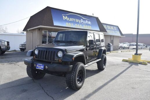 2008 Jeep Wrangler Unlimited Sahara Murray UT