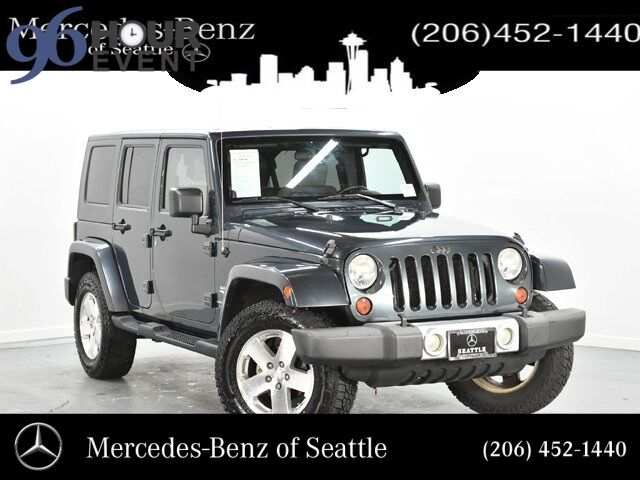2008 Jeep Wrangler Unlimited Sahara Seattle WA