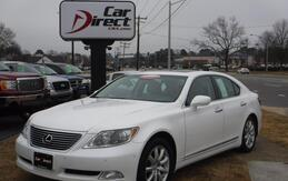 2008_LEXUS_LS460_CARFAX CERTIFIED, NAVIGATION, BACK-UP CAMERA, HEATED/AC LEATHER, ONE OWNER, ONLY 68K MILES, NICE!!!_ Virginia Beach VA
