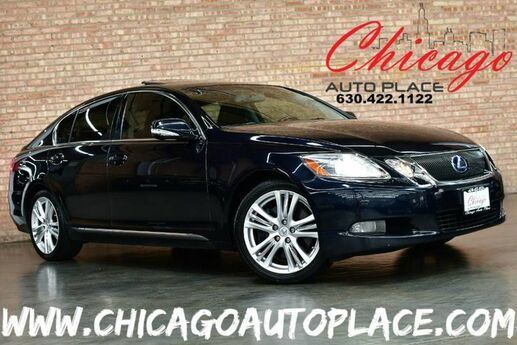 2008 Lexus GS 450h - 3.5L HYBRID V6 ENGINE REAR WHEEL DRIVE NAVIGATION BACKUP CAMERA KEYLESS GO BLACK LEATHER HEATED/COOLED SEATS SUNROOF XENONS BLUETOOTH Bensenville IL
