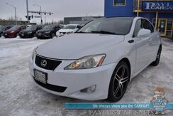 2008_Lexus_IS 250_/ AWD / Auto Start / Heated & Cooled Leather Seats / Sunroof / Bluetooth / Cruise Control / 28 MPG_ Anchorage AK