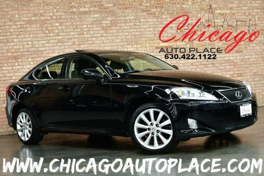 2008 Lexus IS 250 AWD - ALL WHEEL DRIVE NAVIGATION BLACK LEATHER HEATED SEATS SUNROOF KEYLESS GO PREMIUM ALLOYS Bensenville IL