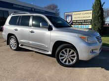 2008_Lexus_LX570 NAVIGATION_REAR VIEW CAMERA, DUAL REAR DVD, HEATED AND COOLED PREMIUM LEATHER SEATS, 3RD ROW!!! EXTREMELY CLEAN AND FULLY LOADED!!! ONE LOCAL OWNER!!!_ Plano TX