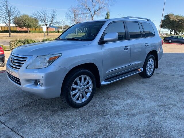 2008 Lexus LX570 NAVIGATION REAR VIEW CAMERA, DUAL REAR DVD, HEATED AND COOLED PREMIUM LEATHER SEATS, 3RD ROW!!! EXTREMELY CLEAN AND FULLY LOADED!!! ONE LOCAL OWNER!!! Plano TX