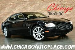 2008_Maserati_Quattroporte_4.2L MPFI V8 ENGINE BLACK LEATHER HEATED SEATS SUNROOF XENONS WOOD GRAIN INTERIOR TRIM PREMIUM ALLOY WHEELS PARKING SENSORS_ Bensenville IL