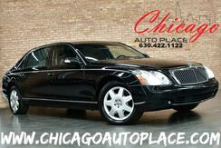 2008_Maybach_62_ORIGINAL MSRP: $411,070 5.5L V12 ENGINE GLASS SUNROOF W/ SOLAR PANEL PACKAGE REAR WINDOW CURTAINS HEATED/VENTILATED SEATS_ Bensenville IL