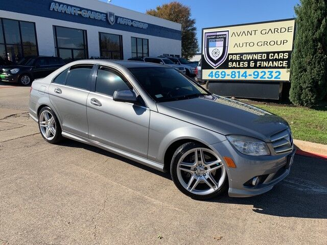2008 Mercedes-Benz C350 AMG Sport NAVIGATION PREMIUM SOUND SYSTEM, HEATED LEATHER, SUNROOF!!! EXTRA CLEAN AND FULLY LOADED!!! Plano TX