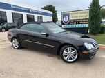 2008 Mercedes-Benz CLK350 Cabriolet NAVIGATION HARMAN KARDON SOUND, HEATED LEATHER, WOOD TRIM!!! SUPER CLEAN AND LOADED!!!