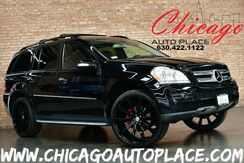 2008_Mercedes-Benz_GL 450_4MATIC - 4.6L V8 ENGINE BLACK LEATHER HEATED SEATS REAR TVS 3RD ROW PREMIUM BLACK WHEELS SUNROOF_ Bensenville IL