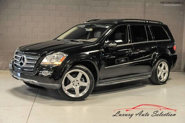 2008_Mercedes-Benz_GL550 4Matic Rear DVD_4dr SUV_ Chicago IL