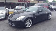 2008_NISSAN_350Z_TOURING, AUTOCHECK CERTIFIED, PREMIUM SOUND, STEERING WHEEL CNTRLS, 6-SPEED MANUAL, BLACK ON BLACK!_ Norfolk VA