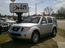 NISSAN PATHFINDER LE 4X4, CARFAX CERTIFIED, ONLY 85K MILES, NAVI, BACK-UP CAM, 3RD ROW SEAT, RUNNING BOARDS, MINT!!! 2008