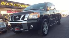 2008_NISSAN_TITAN_LE KING CAB 4X4, CARFAX CERTIFIED, HEATED LEATHER SEATS, PREMIUM SOUND, TOW PKG, SATELLITE, CLEAN!_ Norfolk VA