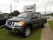 NISSAN TITAN SE CREW CAB 4X4, CERTIFIED W/WARRANTY, TOW PACKAGE, HARD TONNEAU COVER, SUNROOF, LOW MILES! 2008
