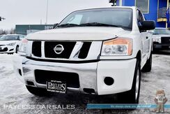 2008_Nissan_Titan_SE / 4X4 / King Cab / Automatic / Cruise Control / Matching Canopy / Tow Pkg / Low Miles / 1-Owner_ Anchorage AK