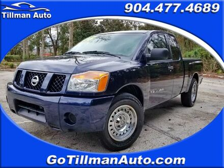2008_Nissan_Titan_XE King Cab 2WD SWB_ Jacksonville FL