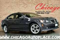 2008_Pontiac_G8_3.6L VVT V6 SFI ENGINE REAR WHEEL DRIVE BLACK LEATHER HEATED SEATS SUNROOF PROJECTOR HEADLAMPS_ Bensenville IL
