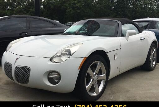 2008 Pontiac Solstice Base Charlotte and Monroe NC