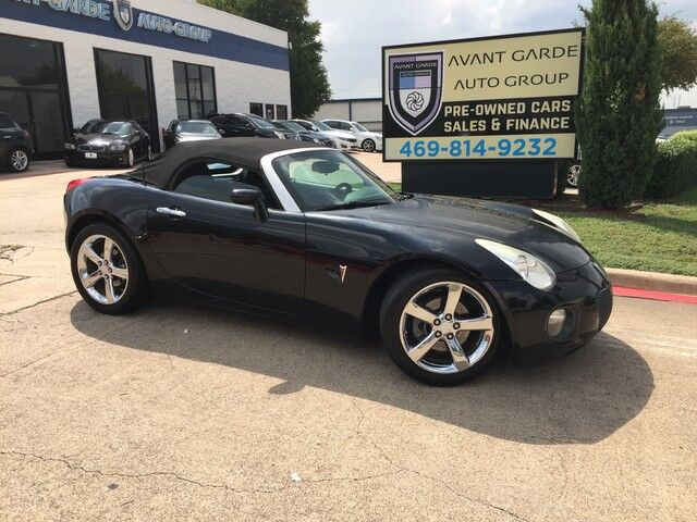 2008 Pontiac Solstice Convertible GXP NAVIGATION REAR VIEW CAMERA, LEATHER, UPGRADED STEREO!!! RARE AND VERY CLEAN!!! Plano TX