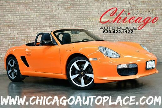 2008 Porsche Boxster Roadster Limited Edition #197/250 MADE - 2.7L 6-CYL ENGINE 5-SPEED MANUAL REAR WHEEL DRIVE STONE GREY LEATHER/SUEDE INTERIOR HEATED SEATS PSM Bensenville IL