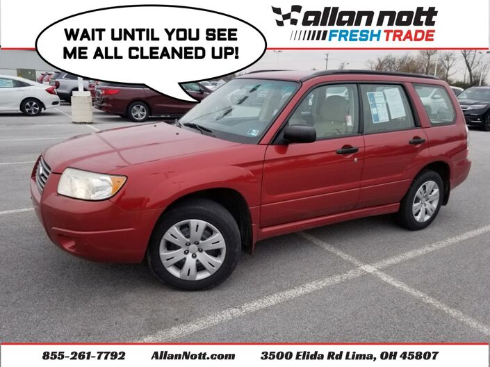 2008 Subaru Forester 2.5X Lima OH