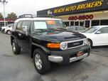 2008 TOYOTA FJ CRUISER 4X4, CERTIFIED W/ WARRANTY, ONLY 29K MILES. TOW, CRUISE CONTROL, A/C, KEYLESS ENTRY, VERY CLEAN!!