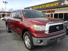 2008_TOYOTA_TUNDRA_SR5 CREW MAX 4X4,WARRANTY, TOW PKG, RUNNING BOARDS, SUNROOF, BACKUP CAM, POWER DRIVERS SEAT,TOW PKG!_ Norfolk VA