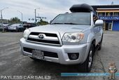 2008 Toyota 4Runner Limited / 4X4 / Automatic / Power & Heated Leather Seats / Sunroof / JBL Speakers / Cruise Control / YAKIMA Skybox Rooftop Cargo / New Tires / Running Boards / Tow Pkg