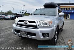 2008_Toyota_4Runner_Limited / 4X4 / Automatic / Power & Heated Leather Seats / Sunroof / JBL Speakers / Cruise Control / YAKIMA Skybox Rooftop Cargo / New Tires / Running Boards / Tow Pkg_ Anchorage AK