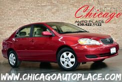 2008_Toyota_Corolla_LE - 1.8L 4-CYL ENGINE FRONT WHEEL DRIVE 1 OWNER TAN CLOTH INTERIOR POWER OPTIONS_ Bensenville IL