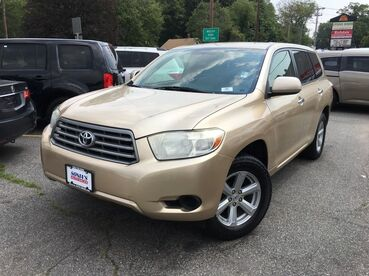 2008_Toyota_Highlander_Base_ Worcester MA