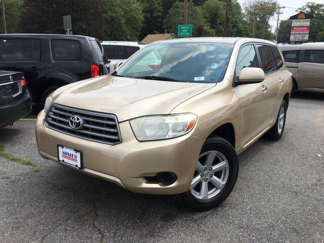 2008 Toyota Highlander Base Worcester MA