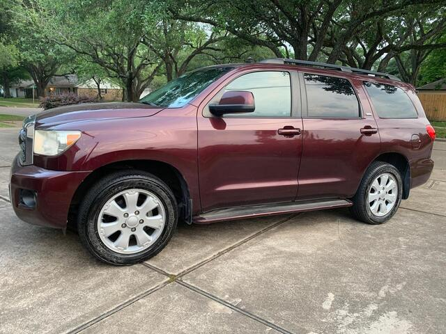 2008 Toyota Sequoia SR5 Houston TX