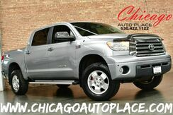 2008_Toyota_Tundra 4WD Truck_LIMITED - CREWMAX 5.7L IFORCE V8 ENGINE 4 WHEEL DRIVE GRAY LEATHER NAVIGATION BACKUP CAMERA HEATED SEATS PARKING SENSORS WOOD GRAIN INTERIOR TRIM_ Bensenville IL