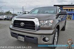 2008_Toyota_Tundra_SR5 / 4X4 / Double Cab / 5.7L V8 / Pioneer Touch Screen / Bluetooth / Cruise Control / Bed Liner / Tow Pkg / Upgraded Rims / New Tires / Low Miles / 1-Owner_ Anchorage AK