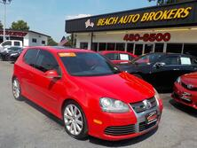 VOLKSWAGEN R32 AUTOCHECK CERTIFIED, BLUETOOTH, REAR SPOILER, SUNROOF, STEERING WHEEL CONTROLS, ALLOY WHEELS, NICE!! 2008