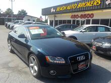 2009_AUDI_A5_3.2 QUATTRO, CERTIFIED W/ WARRANTY, LEATHER, HEATED SEATS, SUNROOF, ONLY 75K MILES, SUPERB!_ Norfolk VA