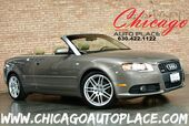 2009 Audi A4 2.0T S-LINE CABRIOLET - 2.0L FSI TURBOCHARGED ENGINE FRONT WHEEL DRIVE BEIGE LEATHER WOOD GRAIN INTERIOR TRIM XENONS